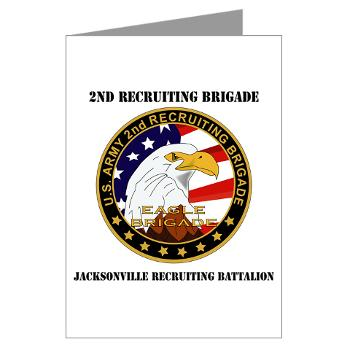 JRB - M01 - 02 - DUI - Jacksonville Recruiting Battalion with Text - Large Framed Print