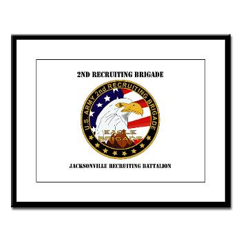 JRB - M01 - 02 - DUI - Jacksonville Recruiting Battalion with Text - Greeting Cards (Pk of 20)