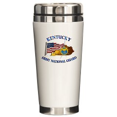 KARNG - M01 - 02 - Kentucky Army National Guard Ceramic Travel Mug