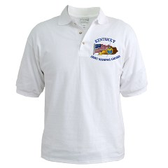 KARNG - A01 - 04 - Kentucky Army National Guard Golf Shirt