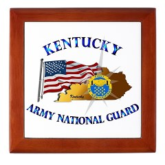 KARNG - M01 - 02 - Kentucky Army National Guard Keepsake Box