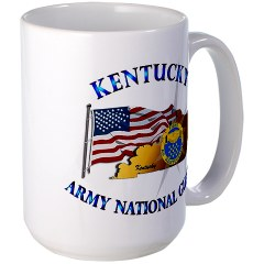 KARNG - M01 - 02 - Kentucky Army National Guard Large Mug