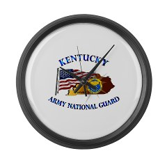 KARNG - M01 - 02 - Kentucky Army National Guard Large Wall Clock
