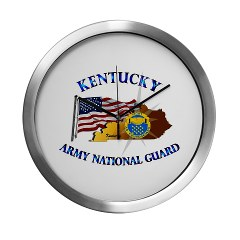KARNG - M01 - 02 - Kentucky Army National Guard Modern Wall Clock