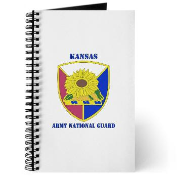 KSARNG - M01 - 02 - DUI - Kansas Army National Guard with Text - Journal