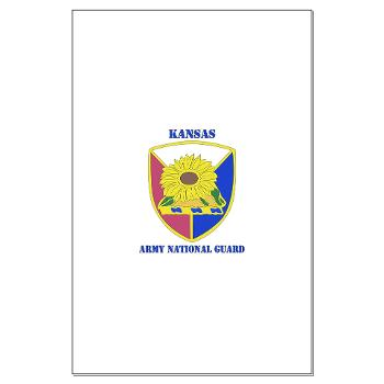 KSARNG - M01 - 02 - DUI - Kansas Army National Guard with Text - Large Poster