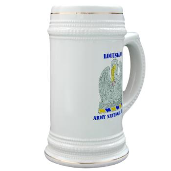LAARNG - M01 - 03 - DUI - Lousiana Army National Guard with Text - Stein