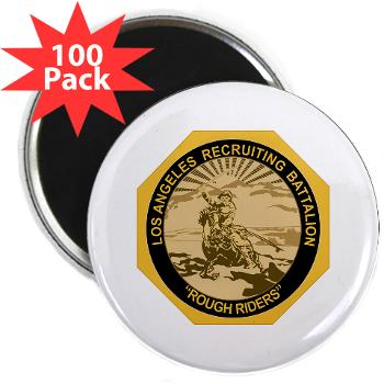 LARB - M01 - 01 - DUI - Los Angeles Recruiting Bn - 2.25 Magnet (100 pack)