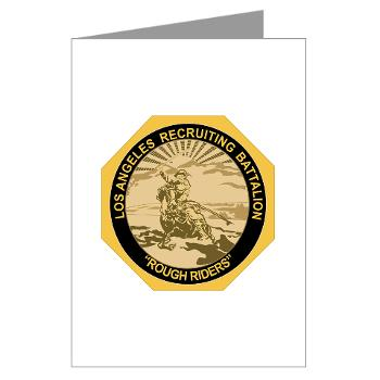 LARB - M01 - 02 - DUI - Los Angeles Recruiting Bn - Greeting Cards (Pk of 10)