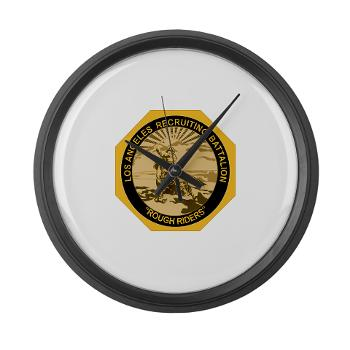 LARB - M01 - 03 - DUI - Los Angeles Recruiting Bn - Large Wall Clock