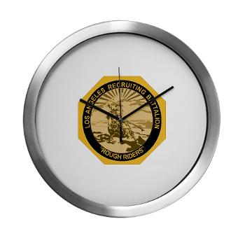 LARB - M01 - 03 - DUI - Los Angeles Recruiting Bn - Modern Wall Clock