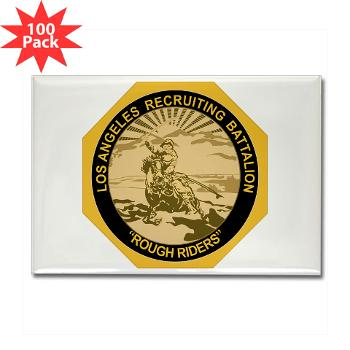 LARB - M01 - 01 - DUI - Los Angeles Recruiting Bn - Rectangle Magnet (100 pack)
