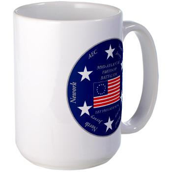 MARB - M01 - 03 - DUI - Mid-Atlantic Recruiting Battalion Large Mug