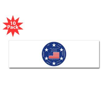 MARB - M01 - 01 - DUI - Mid-Atlantic Recruiting Battalion Sticker (Bumper 10 pk)