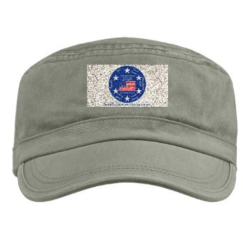 MARB - A01 - 01 - DUI - Mid-Atlantic Recruiting Battalion with Text Military Cap
