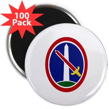 "MDW - M01 - 01 - Army Military District of Washington (MDW) - 2.25"" Magnet (100 pack)"
