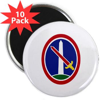 "MDW - M01 - 01 - Army Military District of Washington (MDW) - 2.25"" Magnet (10 pack)"