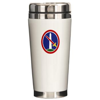 MDW - M01 - 03 - Army Military District of Washington (MDW) - Ceramic Travel Mug