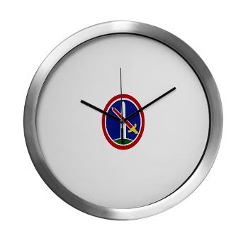 MDW - M01 - 03 - Army Military District of Washington (MDW) - Modern Wall Clock