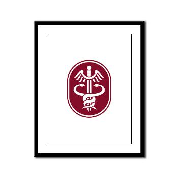 MEDCOM - M01 - 02 - SSI - U.S. Army Medical Command (MEDCOM) - Framed Panel Print