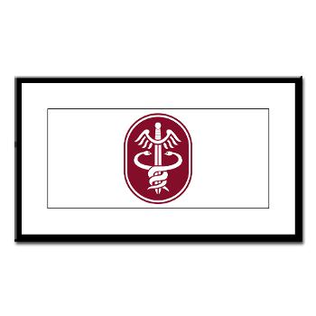 MEDCOM - M01 - 02 - SSI - U.S. Army Medical Command (MEDCOM) - Small Framed Print