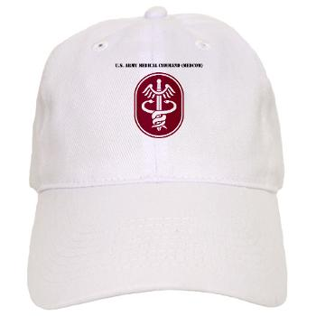 MEDCOM - A01 - 01 - SSI - U.S. Army Medical Command (MEDCOM) with Text - Cap