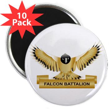 "MGRB - M01 - 01 - DUI - Montgomery Recruiting Battalion - 2.25"" Magnet (10 pack)"