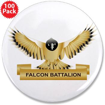 "MGRB - M01 - 01 - DUI - Montgomery Recruiting Battalion - 3.5"" Button (100 pack)"