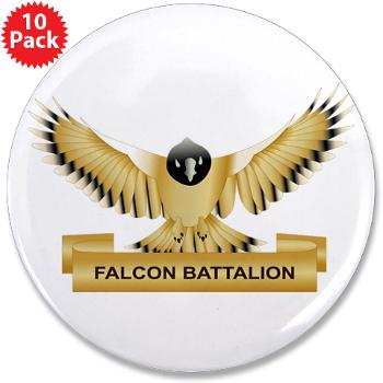 "MGRB - M01 - 01 - DUI - Montgomery Recruiting Battalion - 3.5"" Button (10 pack)"