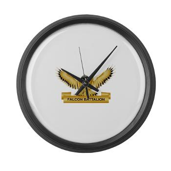 MGRB - M01 - 03 - DUI - Montgomery Recruiting Battalion - Large Wall Clock