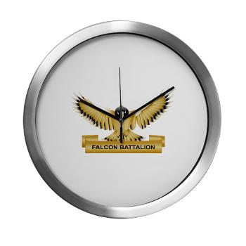 MGRB - M01 - 03 - DUI - Montgomery Recruiting Battalion -Modern Wall Clock