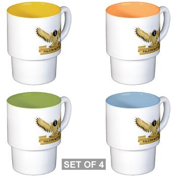 MGRB - M01 - 03 - DUI - Montgomery Recruiting Battalion - Stackable Mug Set (4 mugs)
