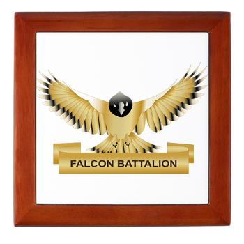 MGRB - M01 - 03 - DUI - Montgomery Recruiting Battalion - Keepsake Box