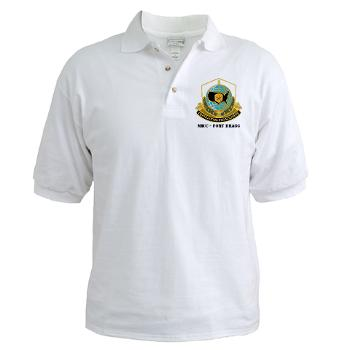 MICCFB - A01 - 04 - DUI - MICC - Fort Bragg with Text - Golf Shirt