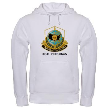 MICCFB - A01 - 03 - DUI - MICC - Fort Bragg with Text - Hooded Sweatshirt