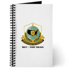 MICCFB - M01 - 02 - DUI - MICC - Fort Bragg with Text - Journal