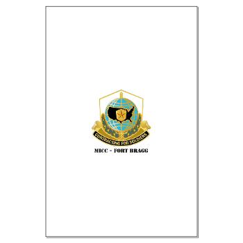 MICCFB - M01 - 02 - DUI - MICC - Fort Bragg with Text - Large Poster