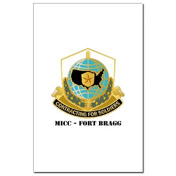 MICCFB - M01 - 02 - DUI - MICC - Fort Bragg with Text - Mini Poster Print