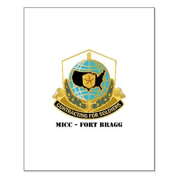 MICCFB - M01 - 02 - DUI - MICC - Fort Bragg with Text - Small Poster
