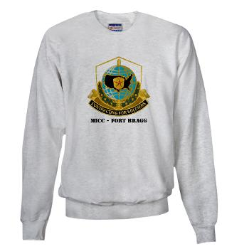 MICCFB - A01 - 03 - DUI - MICC - Fort Bragg with Text - Sweatshirt