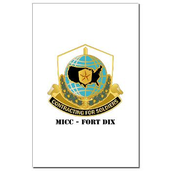 MICCFD - M01 - 02 - DUI - MICC - FORT DIX with Text - Mini Poster Print