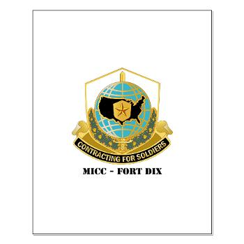 MICCFD - M01 - 02 - DUI - MICC - FORT DIX with Text - Small Poster