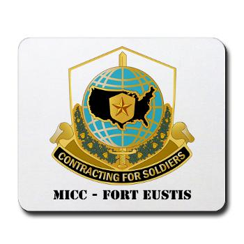 MICCFE - M01 - 03 - MICC - FORT EUSTIS with Text - Mousepad