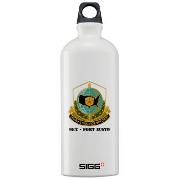MICCFE - M01 - 03 - MICC - FORT EUSTIS with Text - Sigg Water Bottle 1.0L