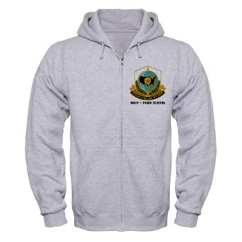 MICCFE - A01 - 03 - MICC - FORT EUSTIS with Text - Zip Hoodie