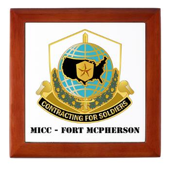 MICCFM - M01 - 03 - MICC - FORT MCPHERSON with Text - Keepsake Box