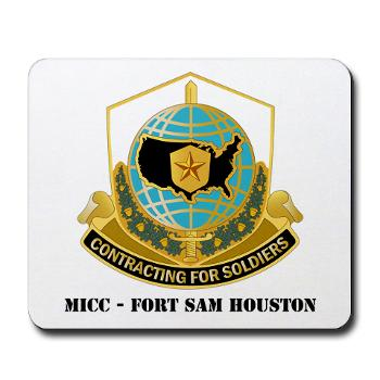 MICCFSH - M01 - 03 - MICC - FORT SAM HOUSTON with Text Mousepad