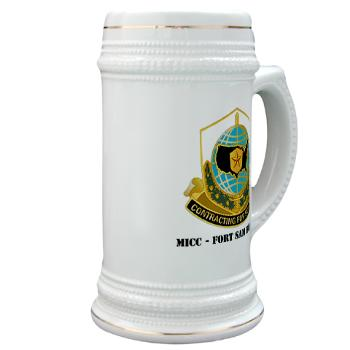 MICCFSH - M01 - 03 - MICC - FORT SAM HOUSTON with Text Stein