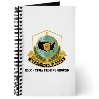 MICCYPG - M01 - 02 - MICC - YUMA PROVING GROUND with Text Journal