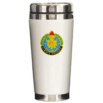 MIRC - M01 - 03 - DUI - Military Intelligence Readiness Command - Ceramic Travel Mug